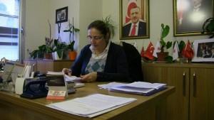 Bodrum AK Parti İlçe Başkanı Çiğdem Demiralp