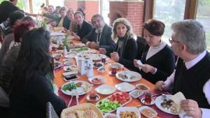 Bodrum-AK Parti-Basın buluşması