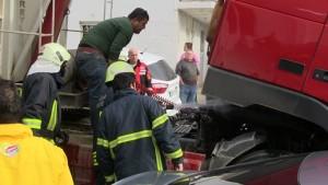 Bodrum-araç yangını