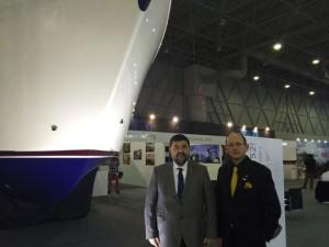 İstanbul CNR Expo'da düzenlenen Boat Show Fuarı