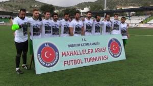 Bodrum-Asi Tayfa takımı-Şehit Er Vedat Dolançay