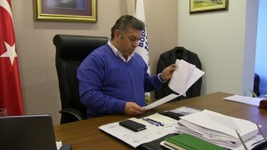 Bodrum Belediye Başkan Yardımcısı Taner Uslu