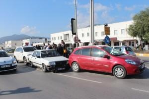 Bodrum-Konacık-zincirleme kaza