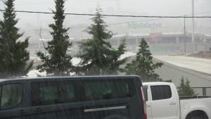 Bodrum-sağanak yağmur