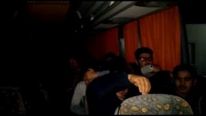 otobüste göçmenler