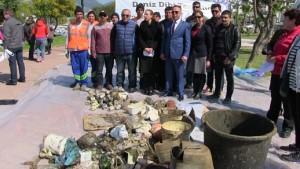 Bodrum-Bitez deniz temizliği