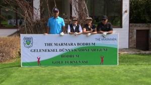 Bodrum'da, 8 Mart Dünya Kadınlar Günü-Golf turnuvası