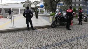 Bodrum'da güvenlik önlemleri