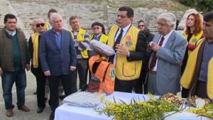 Ege ve Batı Akdeniz Lions Federasyonu-Göçmen Çantaları