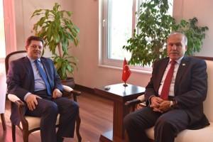 Muğla Cumhuriyet Başsavcısı İbrahim Akbaş, Bodrum Kaymakamı Dr. Mehmet Gödekmerdan