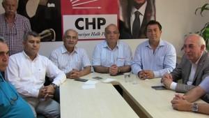 CHP Muğla Milletvekilleri Akın Üstündağ, Ömer Süha Aldan ve Nurettin Demir Bodrum'da