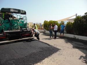 bodrumda asfalt calismalari hizla suruyor (1)