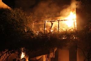 Bodrum otelde yangın