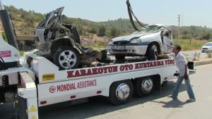 Bodrum-Milas- karayolu-trafik kazası