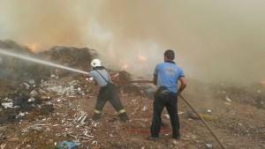 bodrum çöp yangını kontrol altına alındı (16)