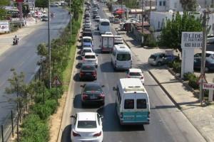 Bodrum-trafik yoğunluğu