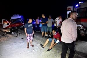 bodrum-milas-karyolu trafik kazası