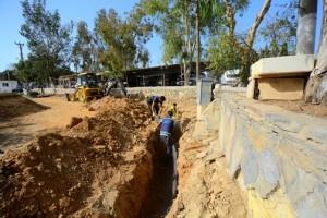 Külcü Sokak'ın İçme Suyu Hattı Yenilendi (1)