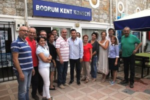 bodrum kent konseyi-başkan kocadon