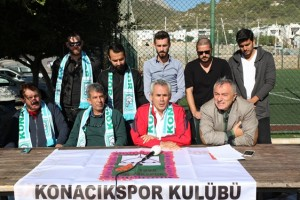 Konacıkspor kulüp yönetimi