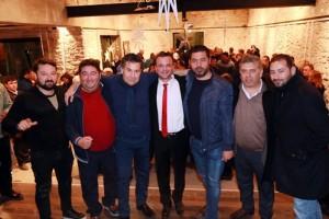 baskan kocadon belediye personelinin yeni yilini kutladi (2)