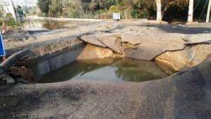 bodrum-içme suyu hattında patlama