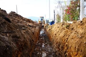 MUSKİ'den Yeni Yerleşim Bölgesine Yeni İçme Suyu Hattı (4)