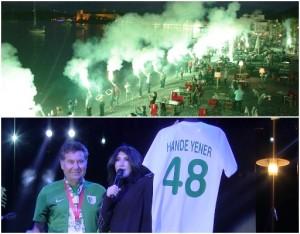 bodrumspor şampiyonluk kutlamaları