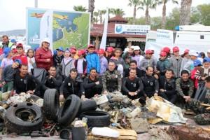 deniz dibi temizlik kampanyasi yalikavak (12)