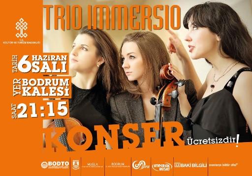 TRIO IMMERSIO'DEN KLASİK MÜZİK KONSERİ