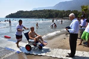 Engelsiz Plajlar Artıyor, Muğla'da Yüzler Gülüyor (5)