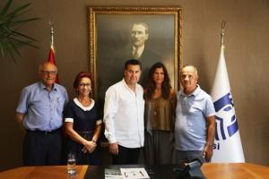 Googlein Turk yoneticisinden Mehmet Kocadona ziyaret (3)