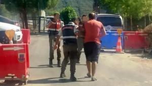 Jandarma gözaltı-İHA Eren Ayhan-Bodrum