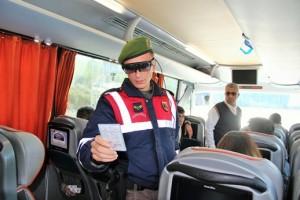 Bodrum Jandarma-takbul gözlüğü