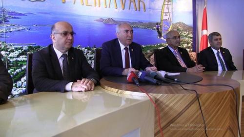 GÜNDEMDEKİ CHP'Lİ VEKİL BODRUM'DA KONUŞTU