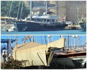 Zarrab'ın tekneleri-Bodrum