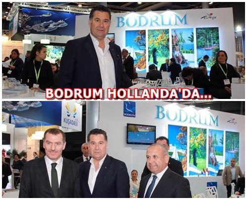 BODRUM, HOLLANDA UTRECHT TURİZM FUARINDA