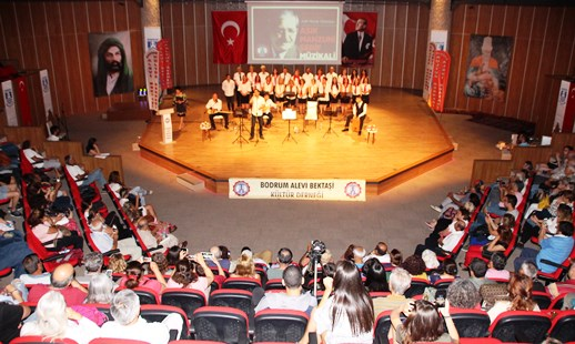 AŞIK MAHZUNİ ŞERİF BODRUM'DA ANILDI