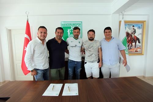 TECRÜBELİ GOLCÜ BODRUMSPOR'DA