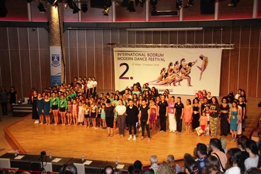 BODRUM'DA MODERN DANS FESTİVALİ