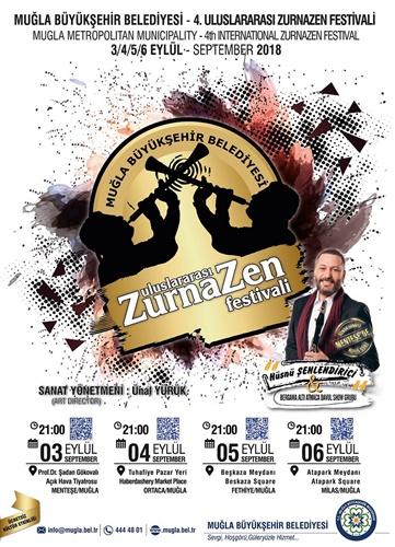 ZURNAZEN FESTİVALİ 3 EYLÜL'DE BAŞLIYOR