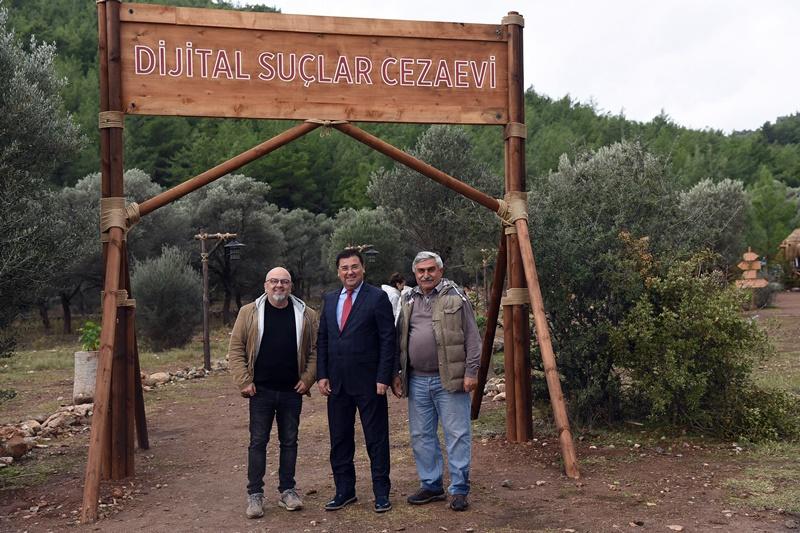 """""""DİJİTAL SUÇLAR CEZAEVİ"""" MİLAS'TA ÇEKİLİYOR"""