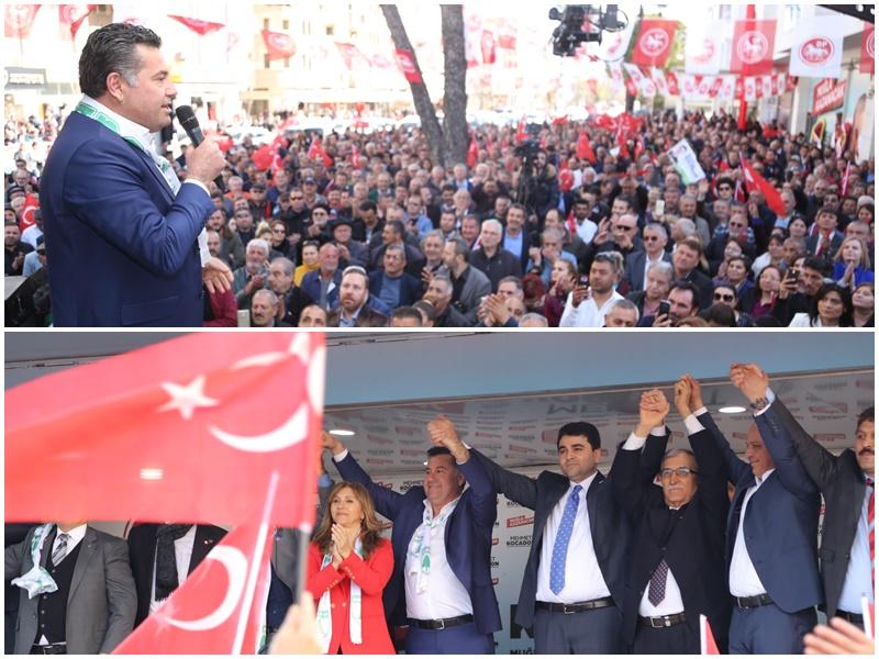 """KOCADON: """"MUĞLA'DA DEĞİŞİM RÜZGARI ESİYOR!"""""""