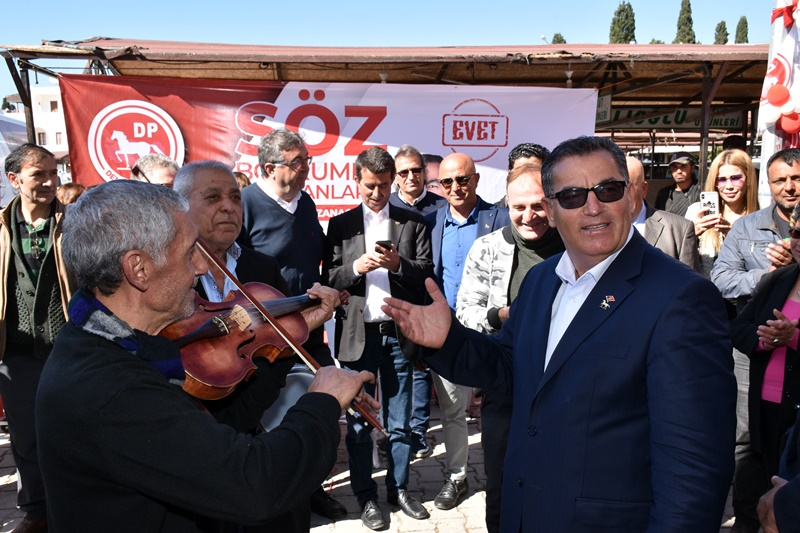 DİLLERE DESTAN TURGUTREİS'E YAZIK OLUYOR
