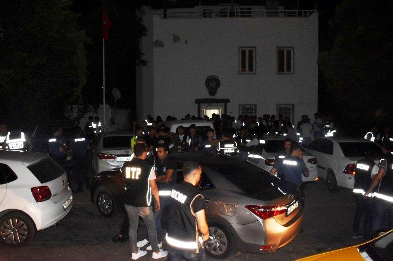 300 POLİS İLE HUZUR OPERASYONU…