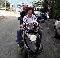 FATMA GİRİK'İN MOTOSİKLET KEYFİ