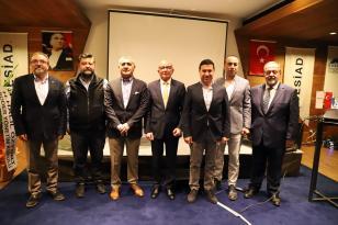 """BESİAD TOPLANTISINDA """"TURİZMDE AZ ENERJİ İLE ÇOK İŞ"""" KONUŞULDU"""