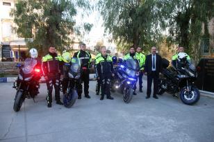 BODRUM POLİSİNE 3 YENİ MOTOSİKLET
