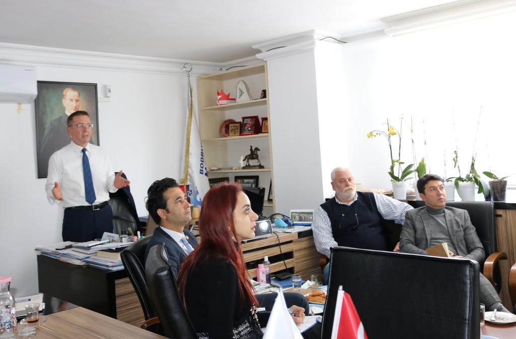 BELEDİYE PERSONELİNE 'GREEN DESTINATION' KRİTERLERİ ANLATILDI
