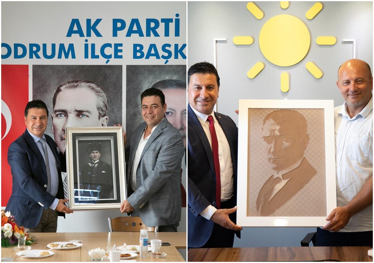 BAŞKAN ARAS'TAN SİYASİ PARTİLERE ZİYARET